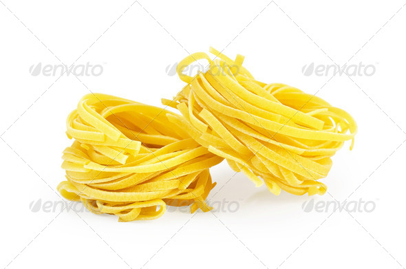 Noodles twisted - Stock Photo - Images