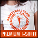 Basketball Team Club Uniform T-Shirt - GraphicRiver Item for Sale