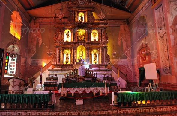 Old catholic church - Stock Photo - Images