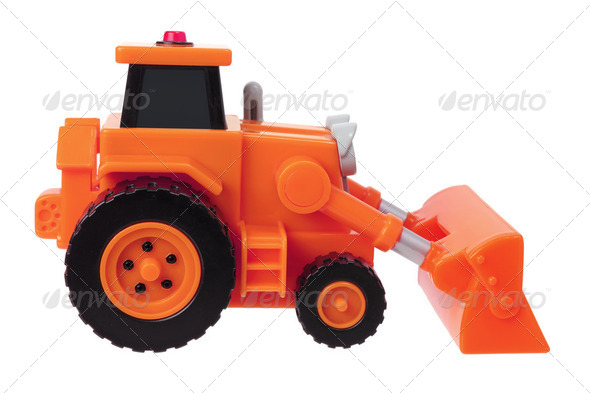 Toy Earthmover - Stock Photo - Images