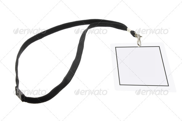 Name Tag - Stock Photo - Images