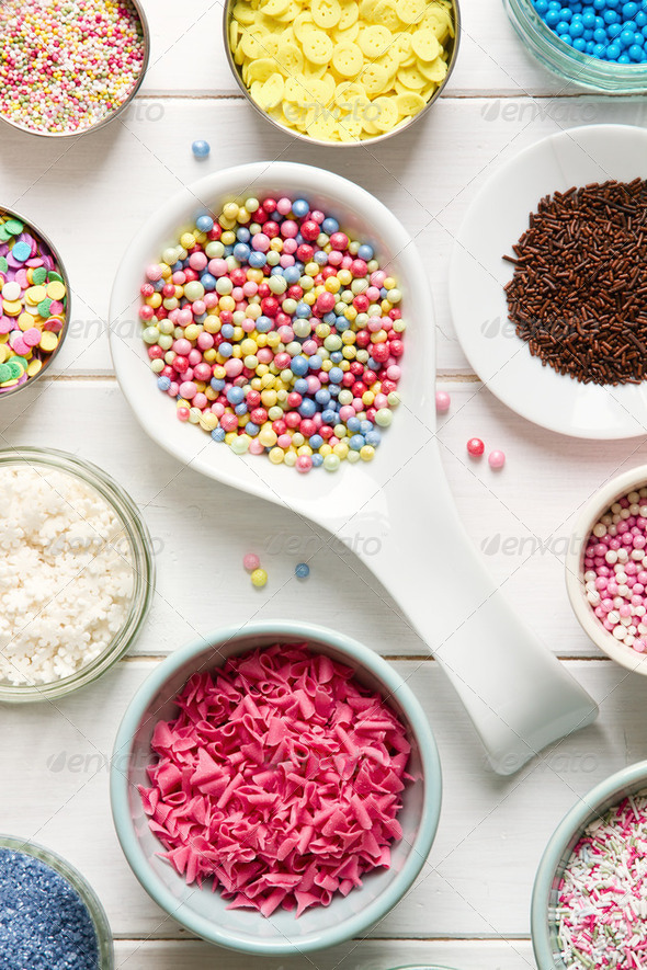 Candy sprinkles - Stock Photo - Images
