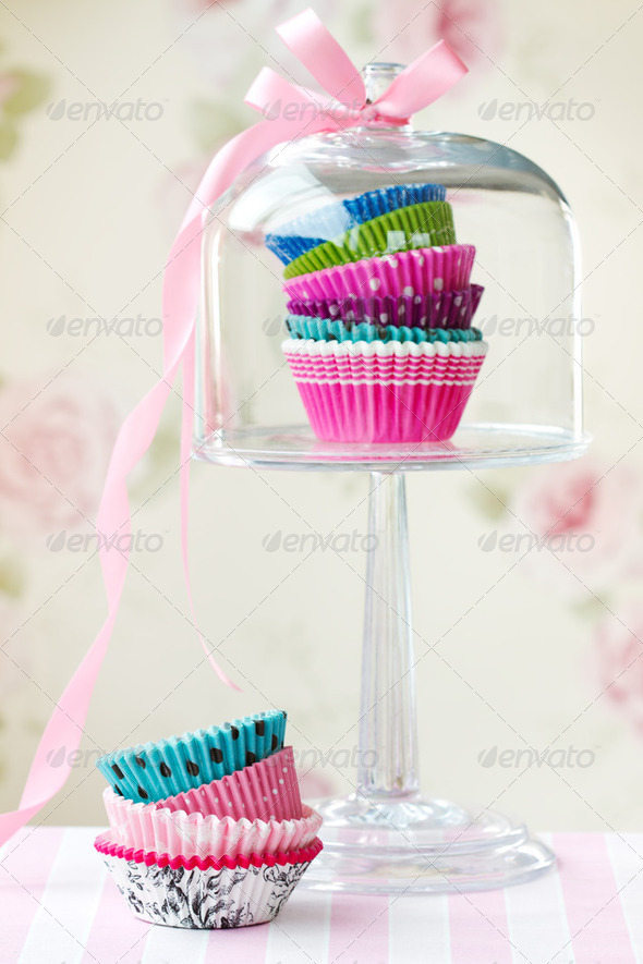 Cupcake cases - Stock Photo - Images