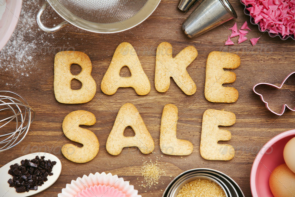 Bake sale cookies - Stock Photo - Images