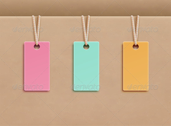 Price tags  - Commercial / Shopping Conceptual