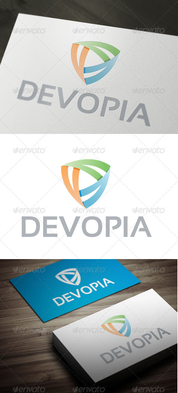 Devopia - Abstract Logo Templates