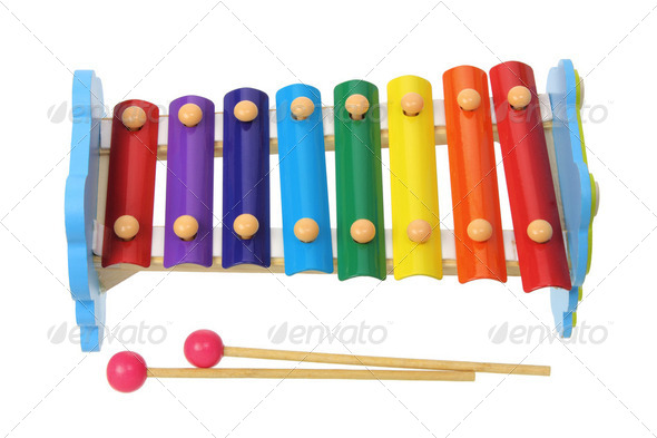 Toy Xylophone - Stock Photo - Images