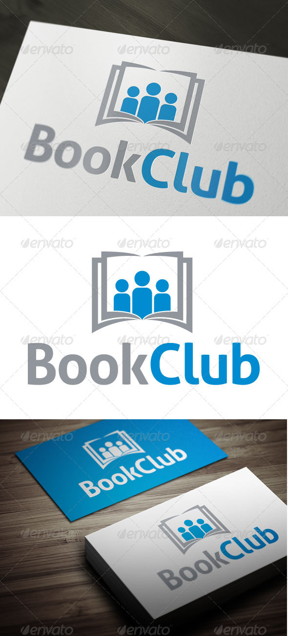 Book Club - Objects Logo Templates