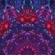 Magic Flower Neon Kaleidoscope - VideoHive Item for Sale