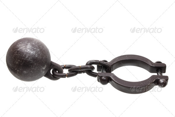 Prison Shackle - Stock Photo - Images
