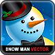 Snowman Christmas Vector Set - GraphicRiver Item for Sale