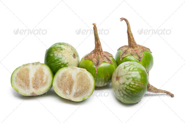 Thai eggplants - Stock Photo - Images