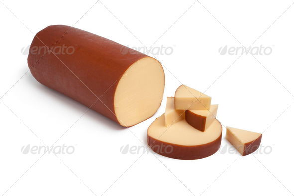 Dutch smoked cheese - Stock Photo - Images