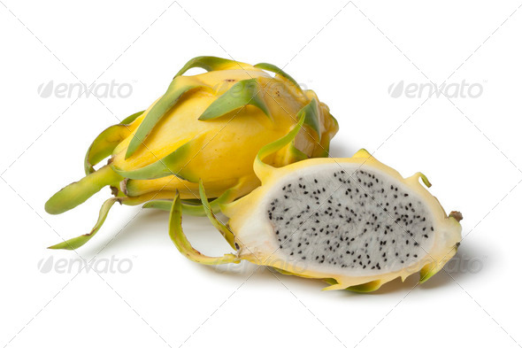 Yellow Dragonfruit - Stock Photo - Images