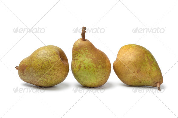 Whole  pears - Stock Photo - Images