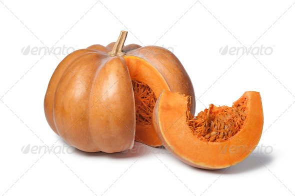 Muscat de Provence pumpkin - Stock Photo - Images