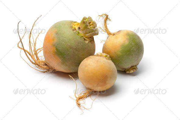 Yellow turnips - Stock Photo - Images