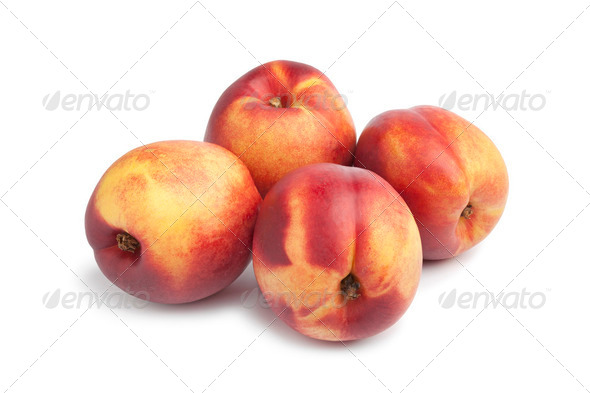 Fresh nectarines - Stock Photo - Images
