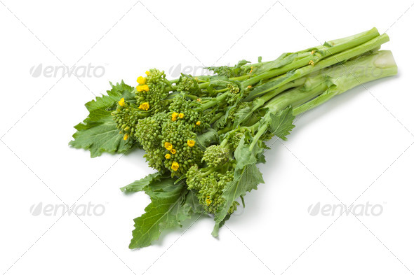 Bunch of fresh picked broccolini - Stock Photo - Images