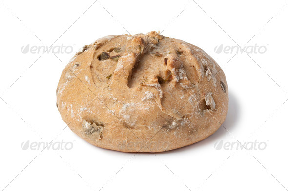 Fresh olive bread - Stock Photo - Images