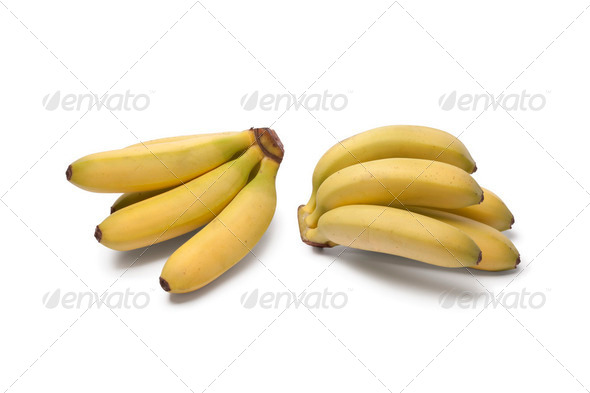 Baby bananas - Stock Photo - Images