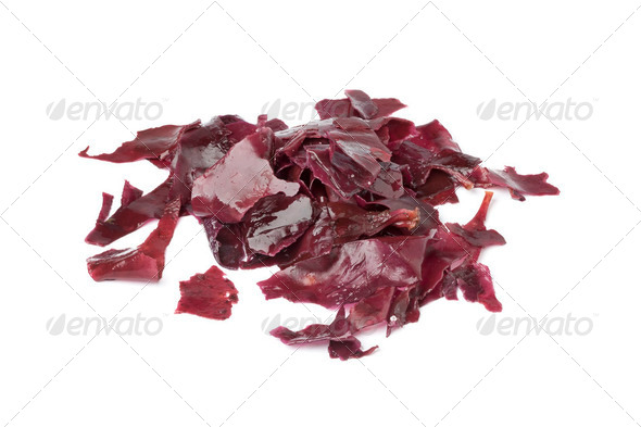 Salted Dulse Seaweed - Stock Photo - Images