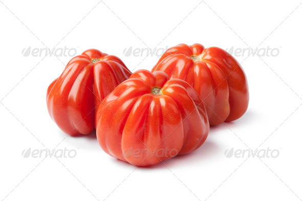 Beef heart tomatoes - Stock Photo - Images