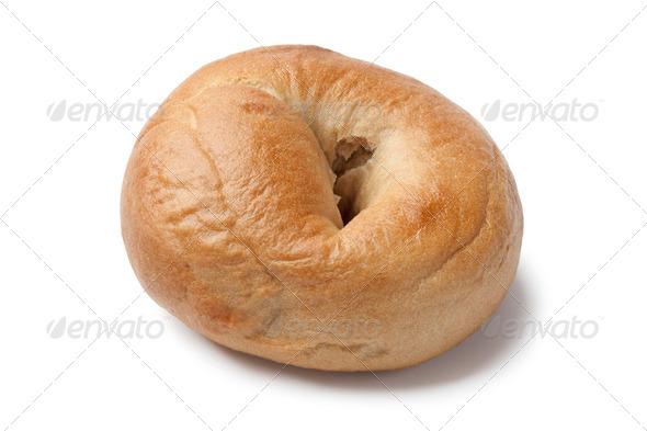 Fresh baked bagel - Stock Photo - Images
