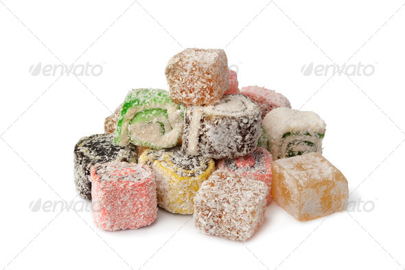Turkish delight - Stock Photo - Images