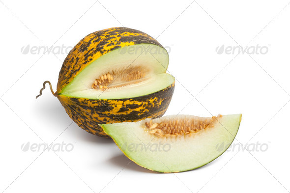 Fresh sweet Turkish melon - Stock Photo - Images