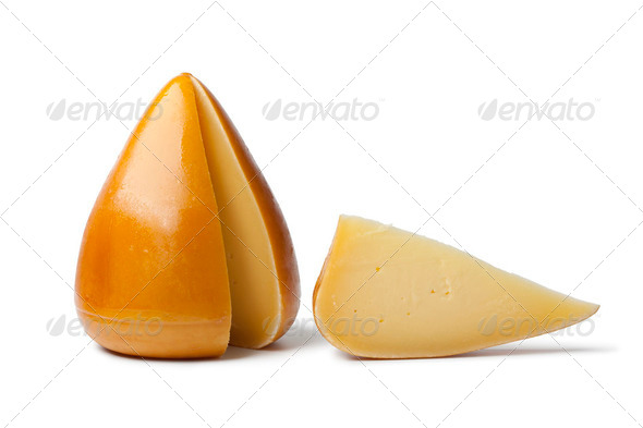 Organic Spanisch smoked cheese - Stock Photo - Images