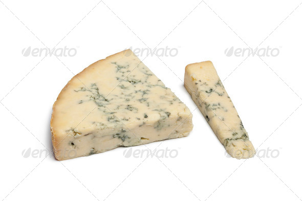 Blue Stilton cheese - Stock Photo - Images
