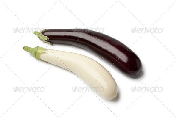 Japanese eggplants - Stock Photo - Images