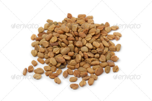 Fenugreek seeds - Stock Photo - Images