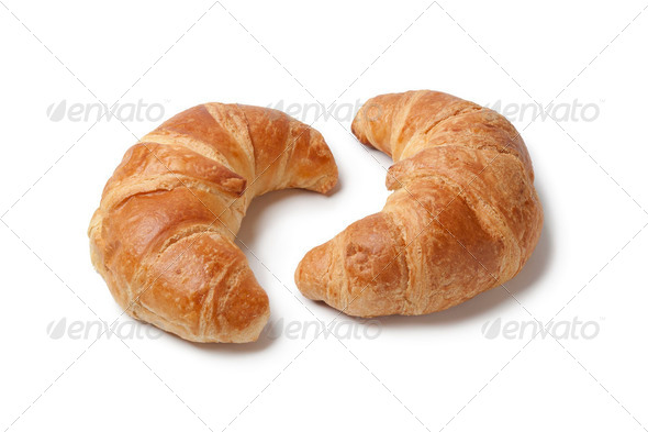 French croissants - Stock Photo - Images