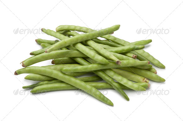 Fresh raw green beans - Stock Photo - Images