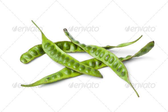 Fresh petai beans - Stock Photo - Images