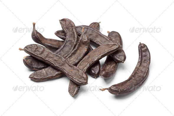 Dried Carob pods - Stock Photo - Images