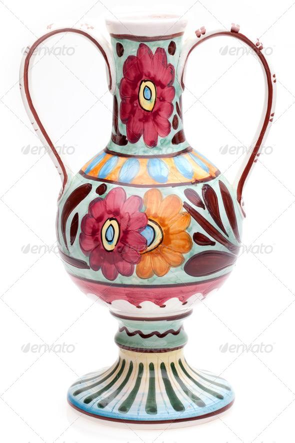 Ceramic Vase - Stock Photo - Images