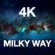 4K Amazing Flying To Milky Way - VideoHive Item for Sale