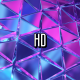 Glass Neon Triangles - VideoHive Item for Sale