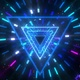 Triangle Stars Galaxy Tunnel - VideoHive Item for Sale