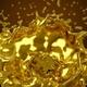 Big Gold Splash 4K - VideoHive Item for Sale