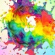 Circle Multicolor Paint Splash 4K - VideoHive Item for Sale