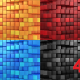 Boxes Form A Wave - VideoHive Item for Sale