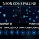 Neon Coins - VideoHive Item for Sale