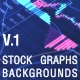 Business Stock Market Graphs vol.1 - VideoHive Item for Sale