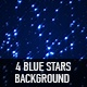 Blue Stars Background - VideoHive Item for Sale