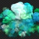 Colorful Smoke Explosion 03 - VideoHive Item for Sale