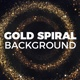 Gold Spiral Background - VideoHive Item for Sale